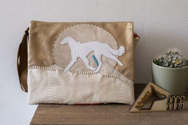 Goldstrike Messenger bag_Mr. Podenco voorzijde