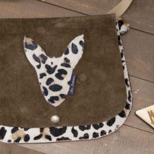 Leopard Festival Bag voorzijde